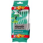 Rasoir Wilkinson Extra 2 Sensitive - sachet de 12