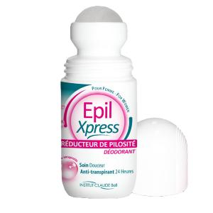 Roll-on Epil Express déodorant triple effet Claude Bell
