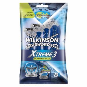 Rasoir Wilkinson XTREME 3 ULTIMATE Plus - sachet de 8