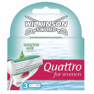 Wilkinson Quattro for Women Sensitive - Boite de 3 lames