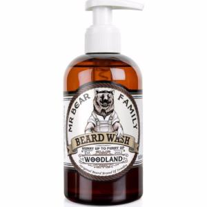 Shampoing à barbe Woodland 250 ml Mr Bear Family