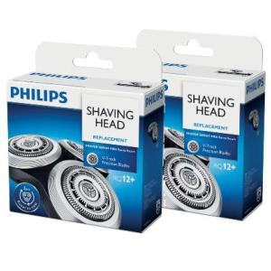Lot de 2 packs de têtes de rasoir Philips (ref RQ12)
