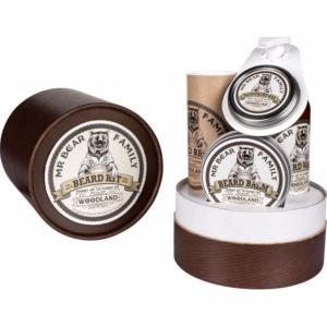 Kit coffret soins à barbe Woodland Mr Bear Family